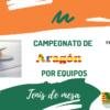 Cto de Aragón Por Equipos – 19-20/06/21